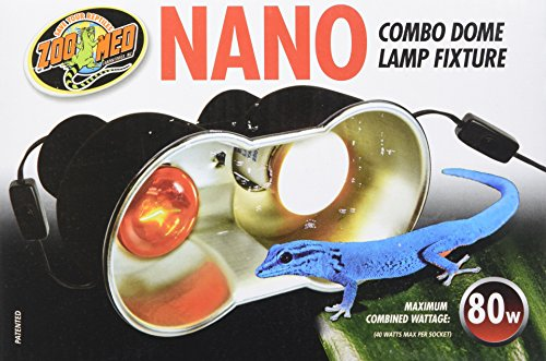 Image of Zoo Med LF-36 Nano Combo Dome Lamp Fixture