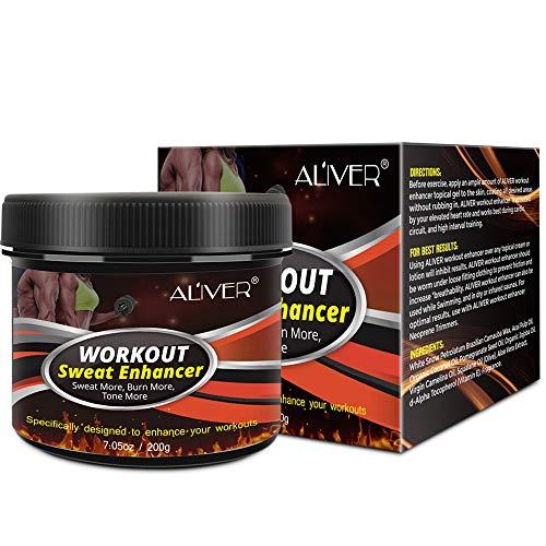 Sweat Cream Weight Loss Fat Burner for Women,Fitness Cream,Sweat Cream for Weight Loss, Fat Loss, Muscle Gain, Etc. 8