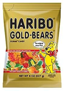 Haribo Gold Bears-1- 8 oz bag