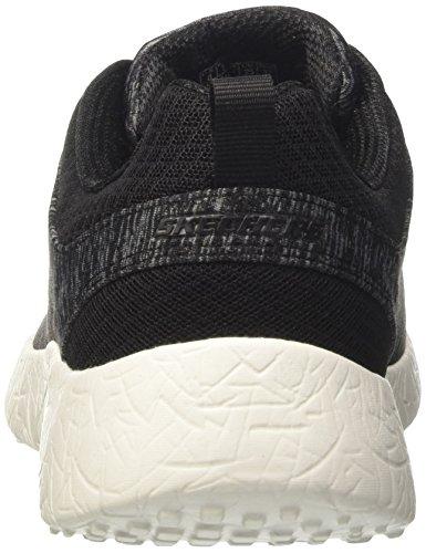 Burst blk Skechers Heat Zapatillas Negro city Mujer Para dqqaP4c0wx
