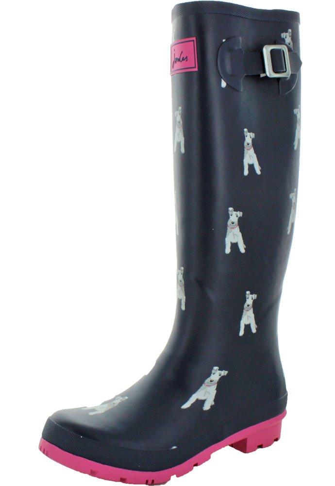 Joules Women's Welly Print Rain Boot B06WGMJTQJ 5.5 M US|Gbeastp