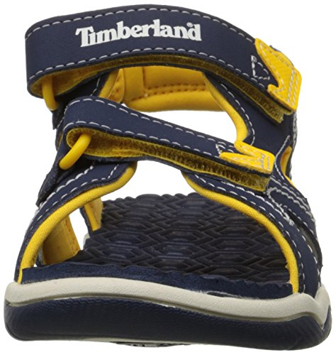 Toddler Two Adventure Seeker Kid Kid 11 Sandal M Little Yellow Strap US Timberland Navy Little EqXCBww