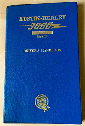 AUSTIN HEALEY 3000 MK3 OWNERS MANUAL