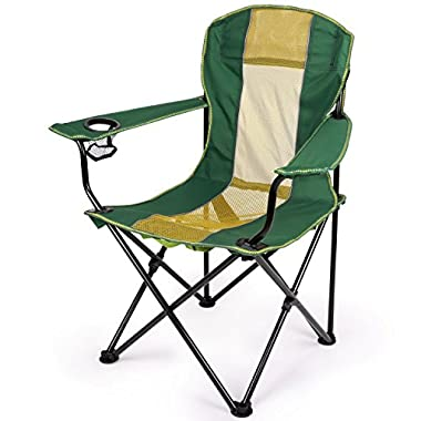 Forfar Quick Chair Camping Chair Foldable Chair Lightweight Quad Chair with Carrying Bag