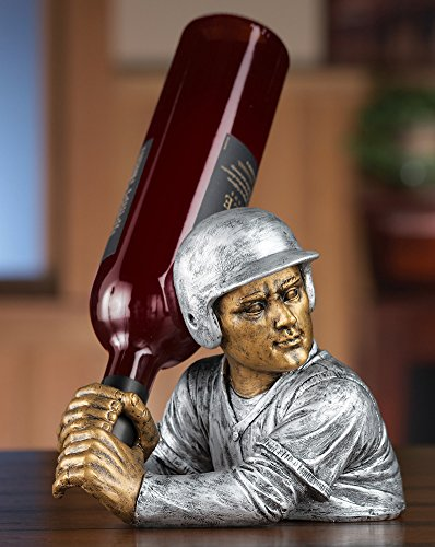 Baseball Player Wine Holder Decoration