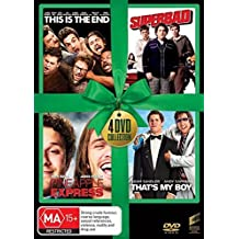 This is the End / Superbad / Pineapple Express / That's My Boy DVD