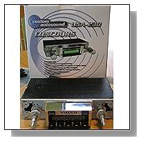 1966-1967 Chevrolet Chevelle SS, Malibu Custom Autosound USA-230 AM/FM Stereo Radio 200 watts