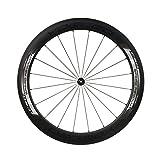 Yoeleo SAT C60 STD 700C Wheelset Front and Rear Carbon Fiber Wheels Matte Clincher for Road Bike