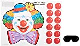 Beistle 66669 Circus Clown Game, 17-1/2-Inch by 19-1/2-Inch