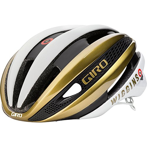 Giro Synthe MIPS Limited Edition Helmet Matte White/Gold Wiggins, - Sunglasses Giro