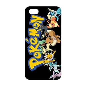 Anime cartoon Pokemon 3D Phone Case For Iphone 6 Plus 5.5 Inch Cover