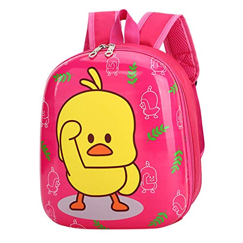 ChenGG New Schoolbags Female Children Duckling Backpack Primary School Backpack Kid Bag for Children Baby Girl Boy 1-6 Years