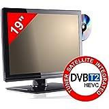 TV 19'' PER CAMPER - DVD/USB - LED