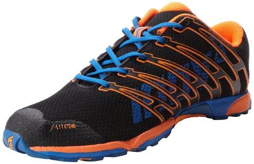 "Inov-8 F-Liteâ""¢ 240 Cross-Training Shoe,Black/Orange/Blue,11.5 M US"