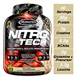 MuscleTech NitroTech Protein Powder Plus Muscle Builder