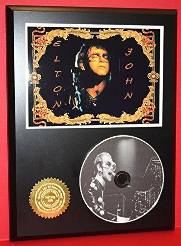 ELTON JOHN LIMITED EDITION PICTURE CD DISC COLLECTIBLE RARE GIFT WALL (Elton John Memorabilia)