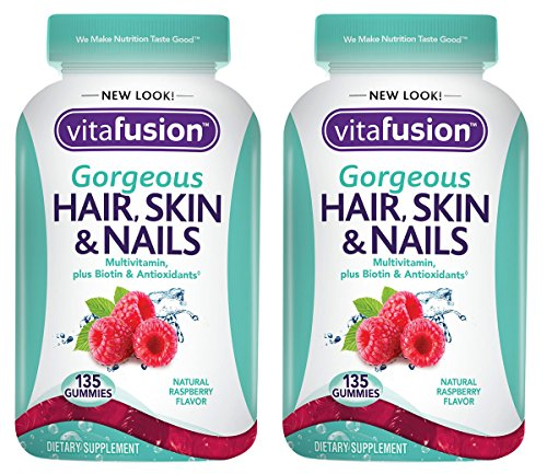 Vitafusion Gorgeous Hair, Skin & Nails Multivitamin, 135 Count, 2 Pack by Vitafusion
