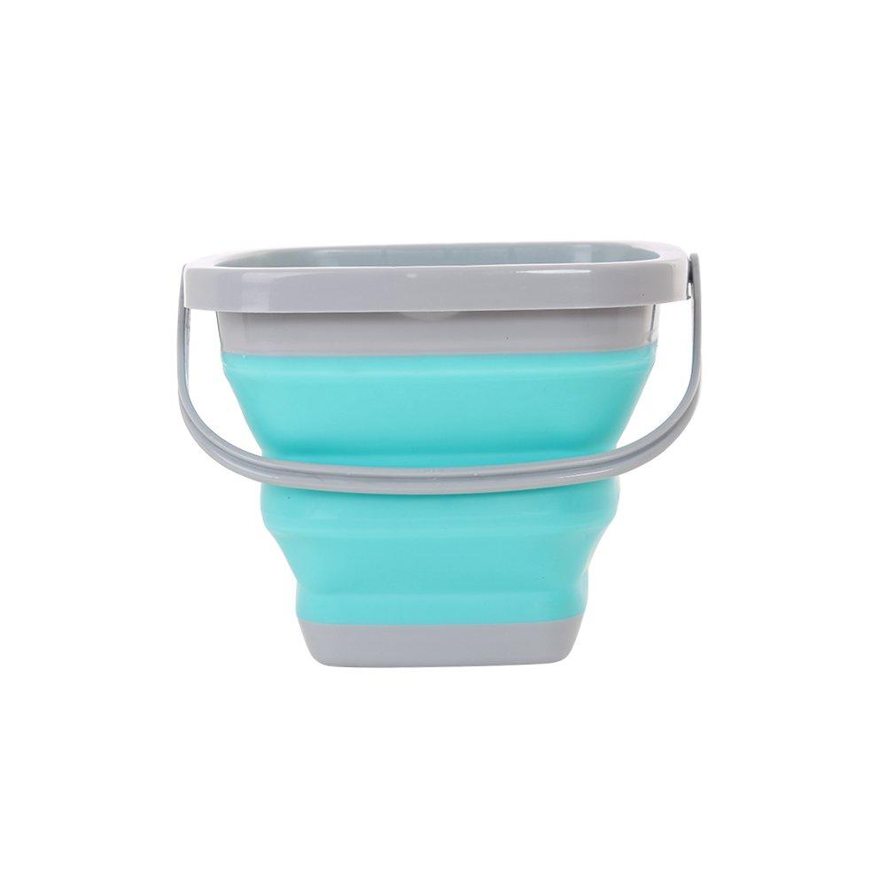 Foldable Bucket Silicone Multi Purpose 5L/10L for Outdoor Camping Barrel Travel Fish Car
