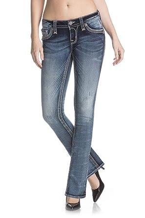 d200e365f57 Amazon.com: Rock Revival - Mens Kamea B202 Boot Leg Jeans: Clothing