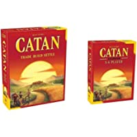 Catan Board Game: Trade Build Settle 5.0 Version / 5-6 Player Extension Pack