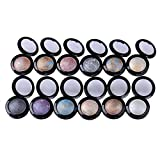 ิblack 1 Colors Baked Single Eyeshadow Palette Makeup Shimmer Metallic Nude Naked Eye Shadow Palette Women Beauty Cosmetic Maquiagem