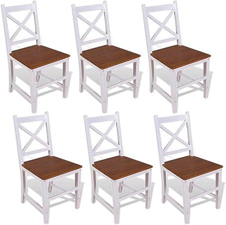 chaise salle a manger 6 piéces