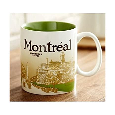 Starbucks Global Icon Collector Series Mug Montreal 16 Fl Oz