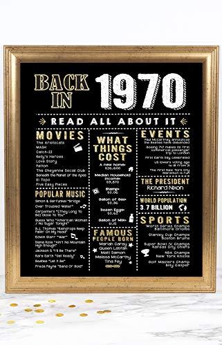 50 Anniversary Ideas - 6