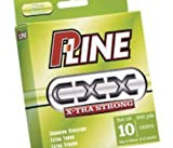 P-Line CXX-Xtra Strong Bulk Spool (3000-Yard, 10-Pound, Moss Green) by P-Line