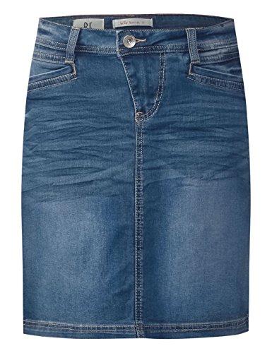 Mid Street Blue 11406 Jupe Bleu Femme Wash One Iwr8xfZ7nr