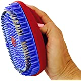 Total Pet Spa Häärology Deshedding Pet Grooming Tool for Cats and Dogs - Red