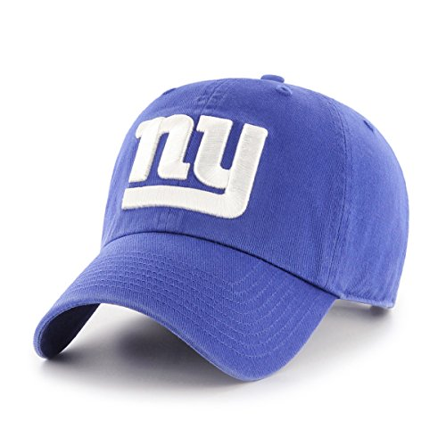 New York Giants Cap (NFL New York Giants OTS Challenger Adjustable Hat, Royal, One Size)