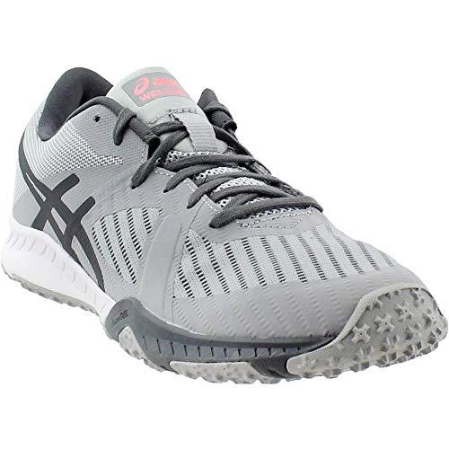 Asics Pour Mid Chaussures Weldon white Femmes Grey carbon X rtBrqxwzWH