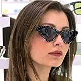 Huphoon Retro UVC Resistant Lightweight Unisex Sunglasses Eyewear for Party Dating