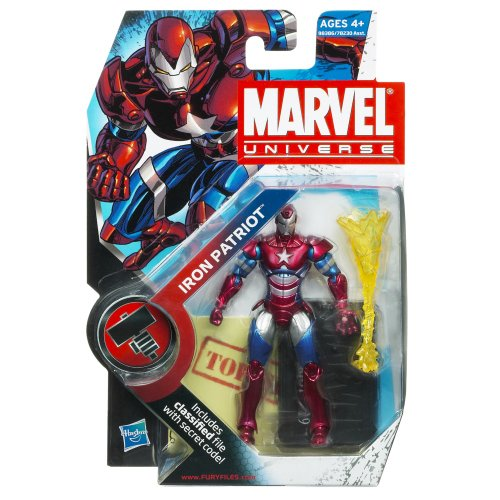 Marvel Universe 3 3/4 Inch Series 2 Action Figure Iron Patriot]()
