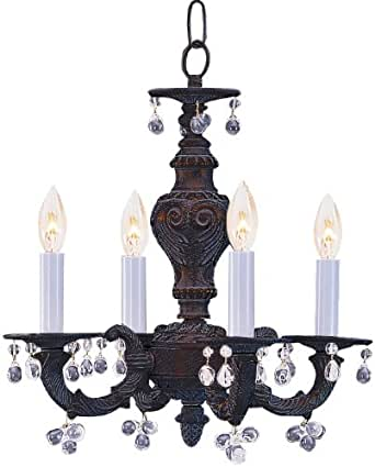 chandeliers for kitchen lighting crystorama 5224 vb clear sutton mini murano 5224
