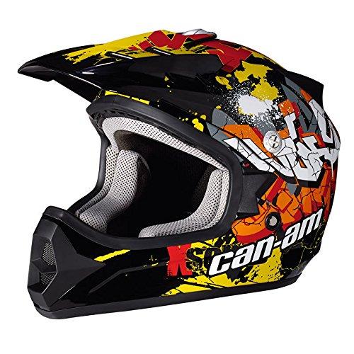 Can-Am New OEM ATV UTV Junior Youth Graffiti X-1 Helmet Medium M - Graffiti Junior
