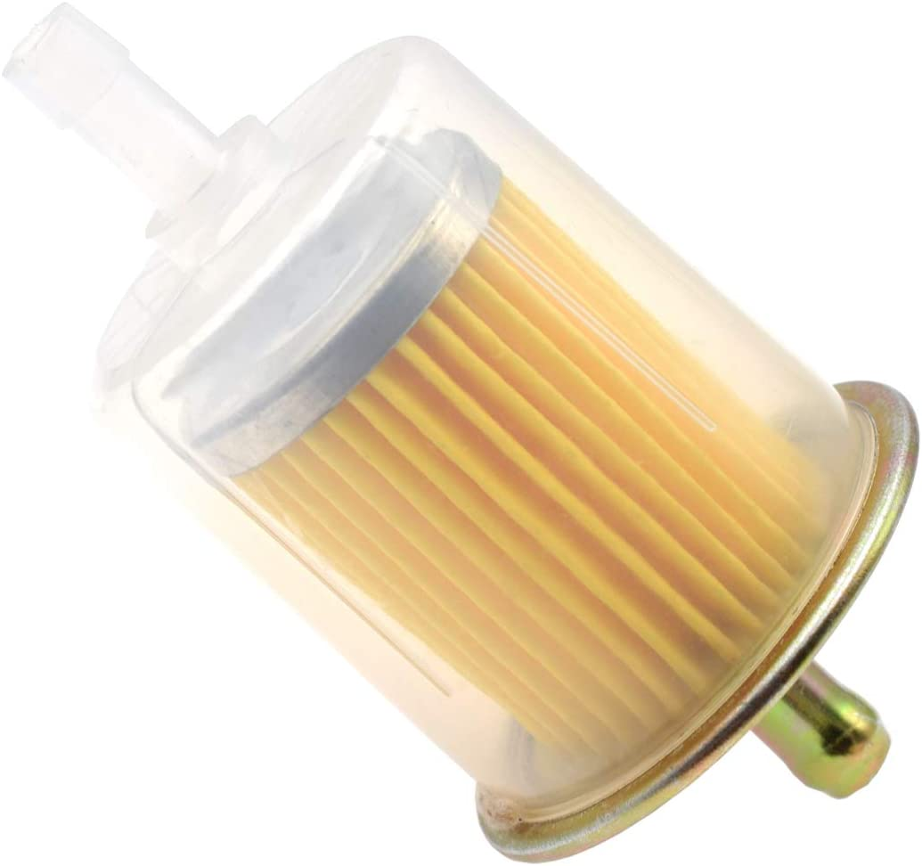 """5pcs 3//8/"""" Fuel Filters Industrial Universal Motorcycle RV/'s Inline Gas Fuel Line"""
