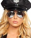 Police Sun Glasses Black/Silver