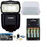 Canon Speedlite 430EX III-RT Flash + Accessory Kit for Canon EOS Rebel T6s, T6i, T5i, T4, T3i, T2i, SL1, T6, T5, T3, EOS 5Ds, 5DsR, 5D III, 5D II, 6D, 7D, 7D II, 70D, 60D, 50D Digital SLR Cameras