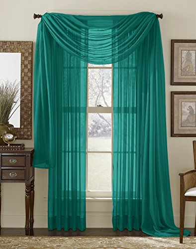 HLC ME 2 Pack Window Curtain Panels product image