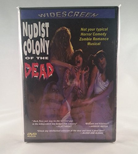 NUDIST COLONY of the DEAD Widescreen DVD New