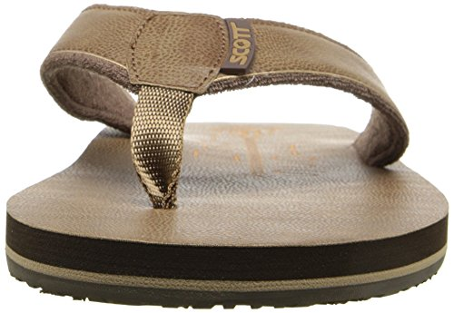 Scott Hawaii Mens Pahoe Flip-flop Marrone
