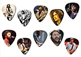 Eric Clapton (Limited to 100) Set of 10 Electric Acoustic Guitar Plectrums