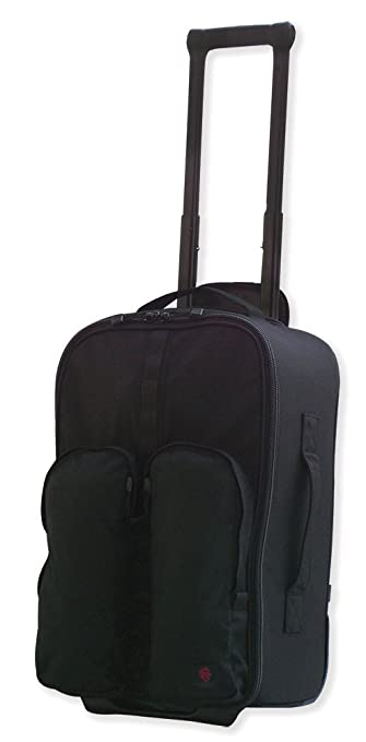 Amazon.com : Tacprogear Tactical Rolling Luggage Bag, Black, Carry ...