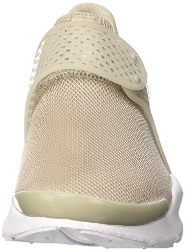 Nike Wmns Sock Dart Br, Entrenadores para Mujer Beige (Pale Grey/white/glacier Blue)