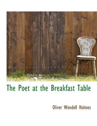 Read Online The Poet at the Breakfast Table ebook