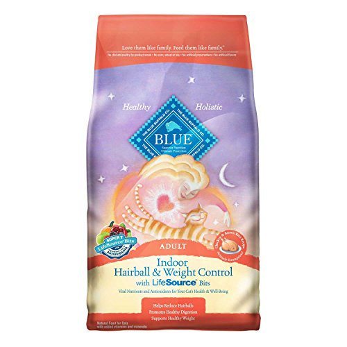 Blue Buffalo Adult Cat Indoor Weight Control Hairball Chicke