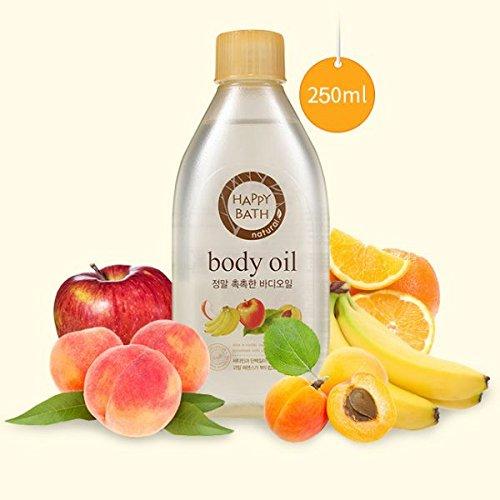 Happy Bath Real Moisture Body Oil 250 ml / 8.45 ounce