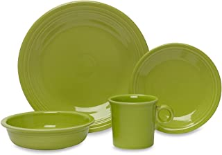 product image for Fiesta 16-Piece Dinnerware Set Service for 4, Lemongrass